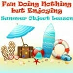 summer object lesson