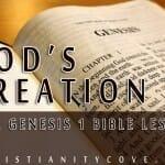 God's Creation: A Genesis 1 Bible Lesson