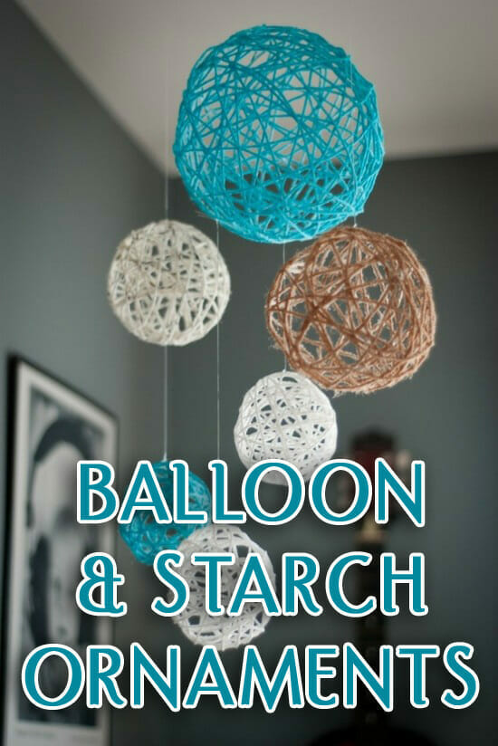 Balloon & Starch Ornament Craft Shows God Is Aways With Us