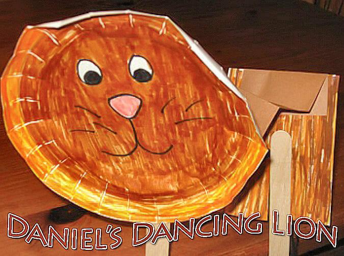 A Bible Craft for Daniel In the Lions Den: Daniel's Dancing Lion