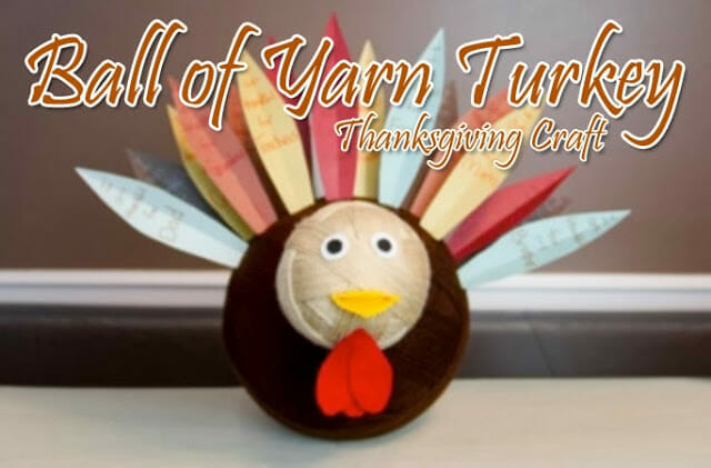 bigturkey thanksgiving turkey craft