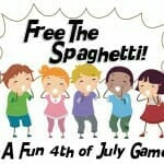 """Free the Spaghetti"" Fourth of July Game"