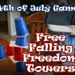 """Free Falling Freedom Towers"" 4th of July Game"