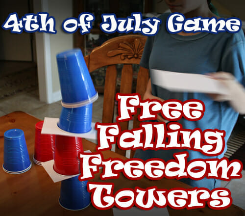 """Free Falling Freedom Towers"" 4th of July Game"