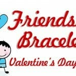 """Friendship Bracelets"" Valentine Craft"