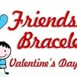 """Friendship Bracelets"" Valentine Craft"