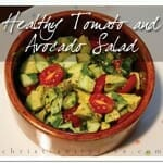Food for Thought: Healthy Tomato and Avocado Salad