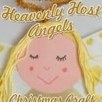 """Heavenly Host Angels"": A Luke 2 Angel Craft"