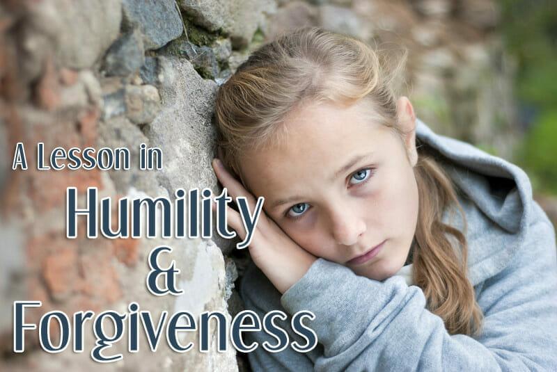 humility and forgiveness