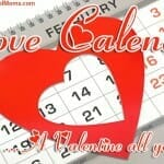 """Love Calendar"" Valentines Day Craft"