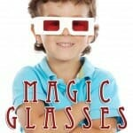 Magic Glasses for Pure Vision: A Transfiguration Bible Craft