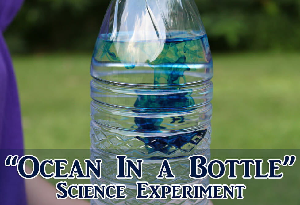 """Ocean In A Bottle"" Science Experiment"