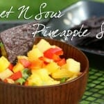 Food For Thought: Sweet 'N Sour Pineapple Salsa