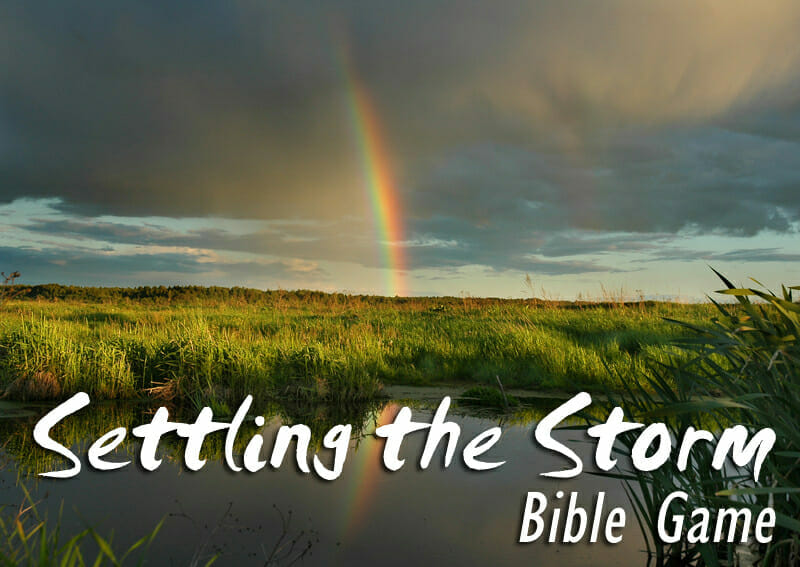 Settling The Storm: A Bible Game About Struggle and Perseverance