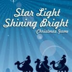 star light shining bright christmas craft