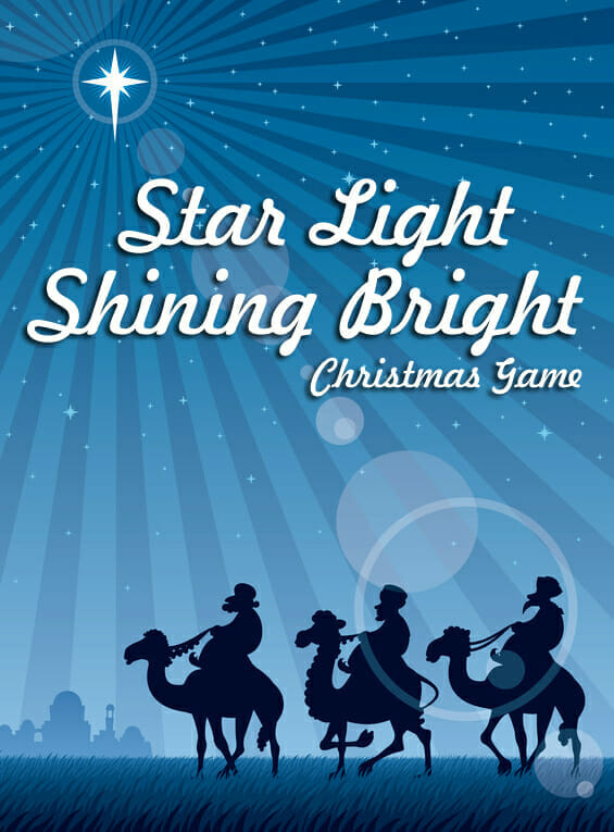 """Star Light Shining Bright"" Christmas Game"