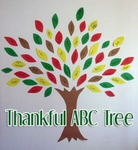 thankful abc tree thanksgiving bible activities