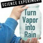 vapor-to-rain science experiment