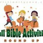 fall bible activities roundup