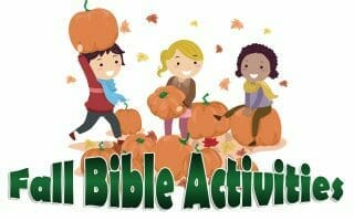 Fall Bible Activities Round-Up