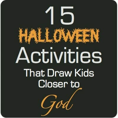 Christian teens bible lessons for halloween