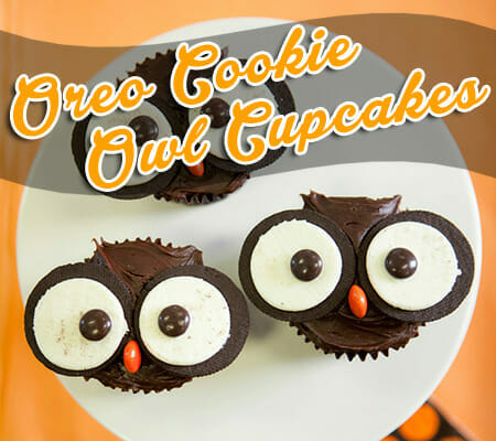 Food For Thought: Oreo Cookie Owl Cupcakes