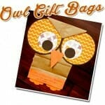 owl gift bags fall bible craft