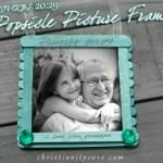 Proverbs 20:29 Popsicle Picture Frame