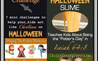 Lessons & Activities for a Christian Halloween