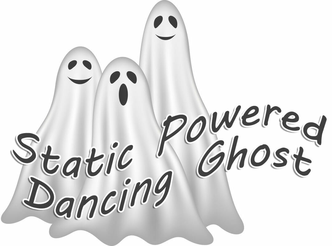 Science Project: Make a Static Powered Dancing Ghost