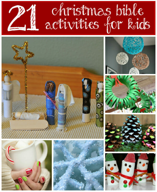 21 christmas bible activities