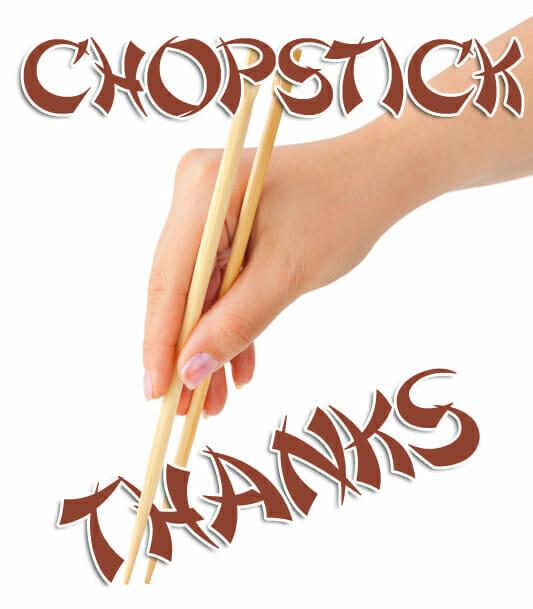 chopstick thanks bible game
