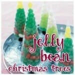 jelly bean trees holiday snack ideas