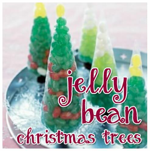 Holiday Snack Ideas: Jelly Bean Christmas Trees