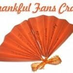 Thanksgiving Craft: Thankful Fans