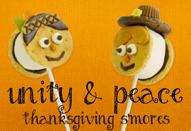 Thanksgiving Snacks: Unity and Peace S'mores