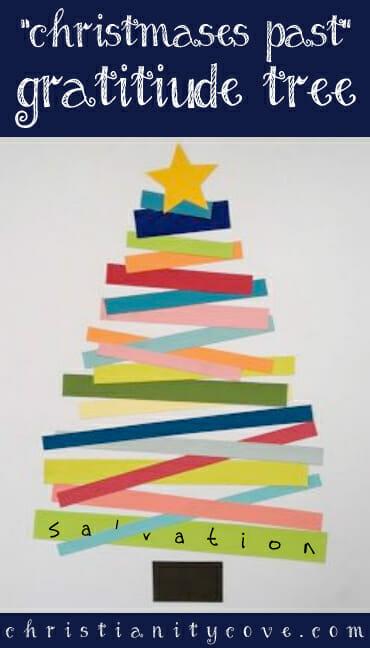 """Christmases Past"" Gratitude Tree – Christmas Craft & Lesson"
