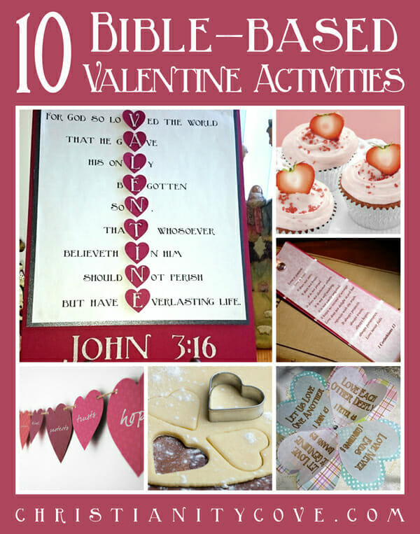 10 bible based valentine activities sized