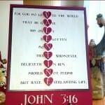 John 3:16 Valentine Verse (Kids Valentine Craft & Scripture Lesson)