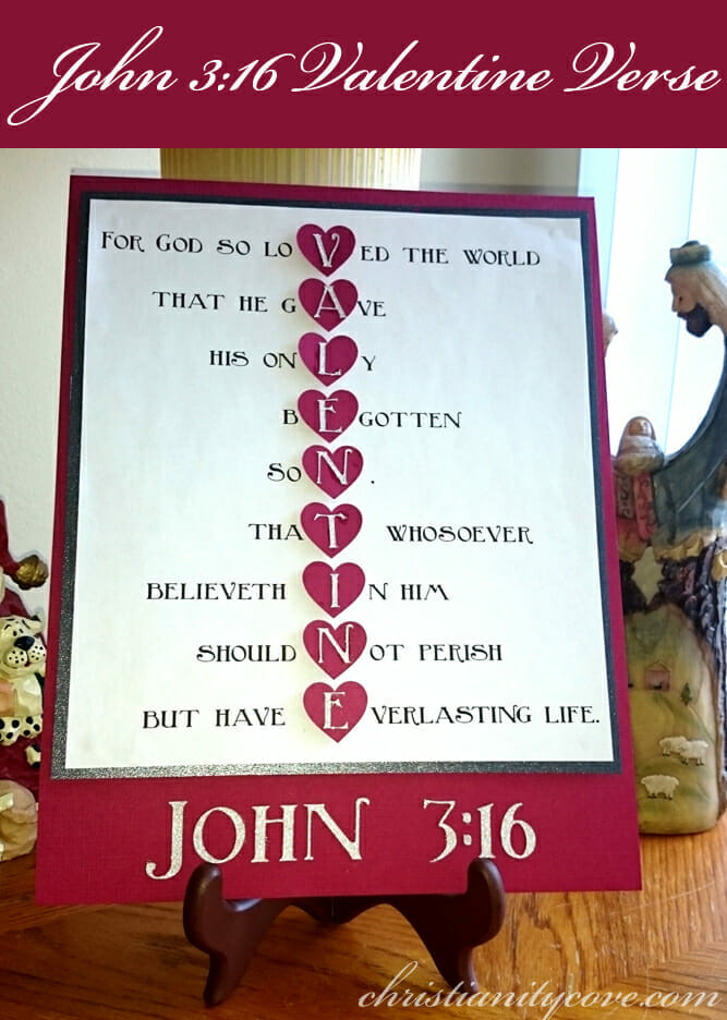 kids valentine craft john 316 valentine verse