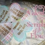 valentine scripture flowers valentines day craft