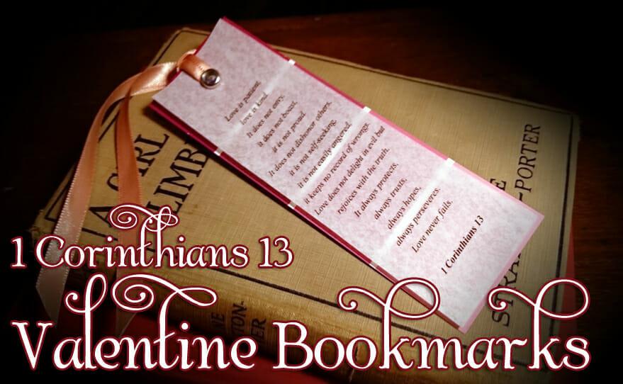 valentines day craft valentine bookmarks