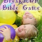 "Balloon Breakdown – A ""March Comes In Like a Lion"" Bible Game"