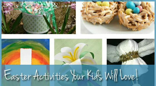 Easter Activities Your Kids Will Love!