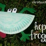 First Day of Spring Craft: Hoppin Froggies