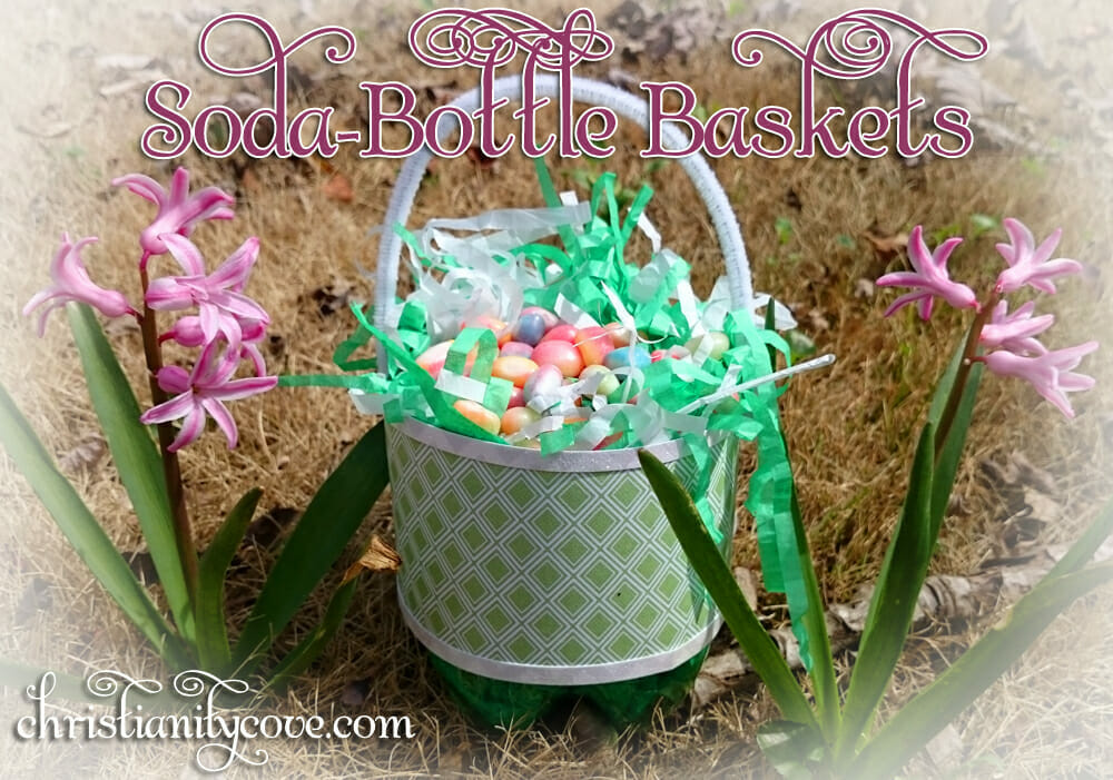 Easter activities your kids will love soda bottle baskets easter craft negle Image collections