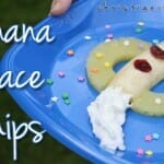 """Banana Spaceships"" Space-Themed Snack"