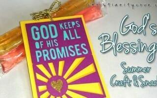 gods blessings summer craft