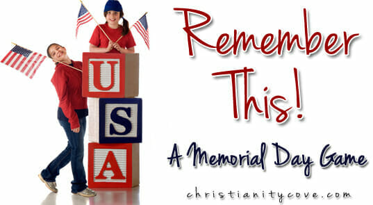 Memorial Day Game: Remember This!