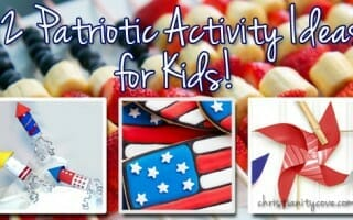 12 Patriotic Activity Ideas for Kids!